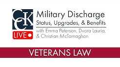 Military Discharge Status, Upgrades, and VA Benefits