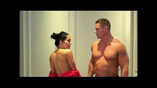 John Cena n Nikki Bella Getting Naked