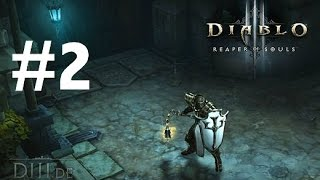 Diablo III Ultimate Evil Edition Gameplay Walkthrough Part 2 (Ps4/Xbox One 1080p HD)