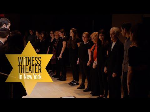 Selfhelp Witness Theater 2016 with JCC Manhattan, Heschel and Trinity