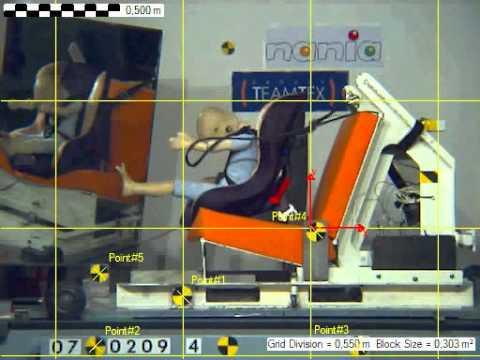 CRASH TEST SIEGE AUTO NANIA DRIVER FREE