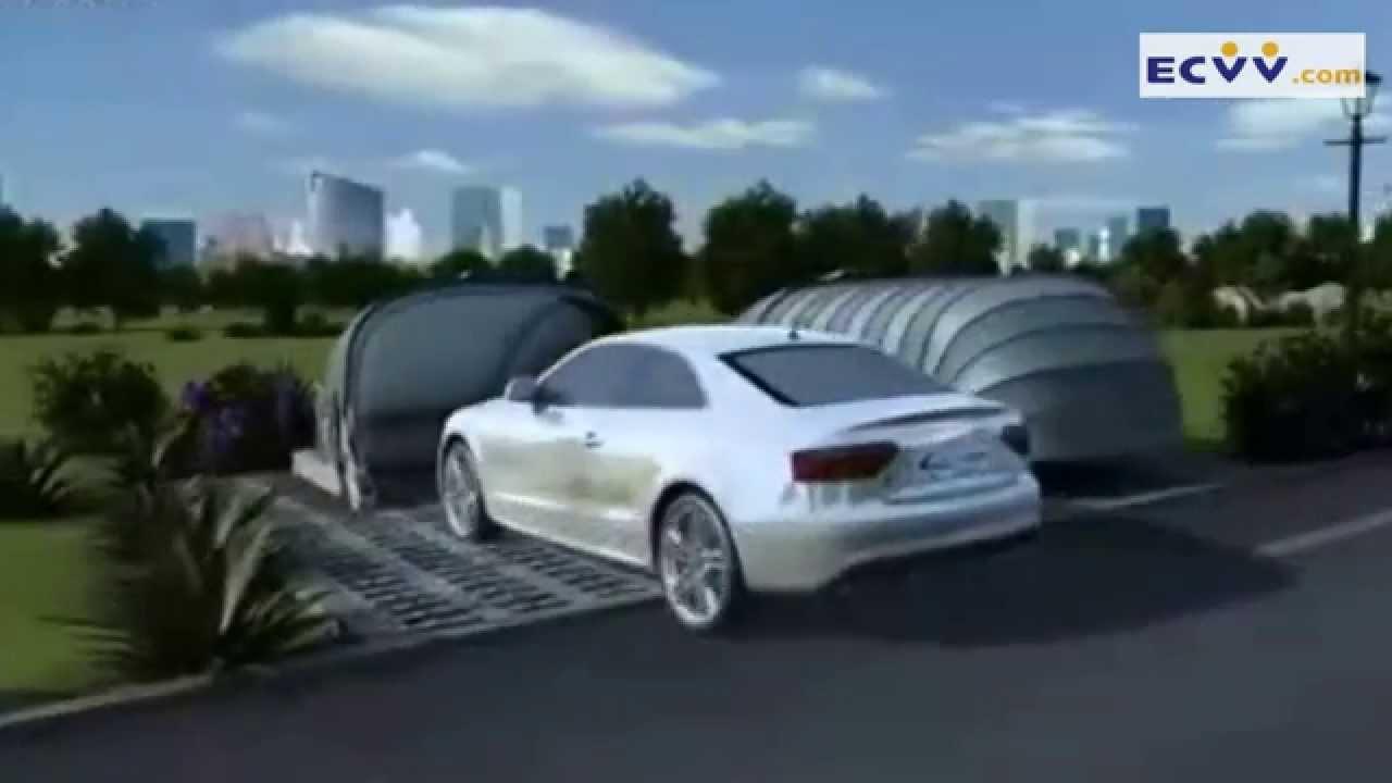 Superbe Solar Energy Retractable Garage