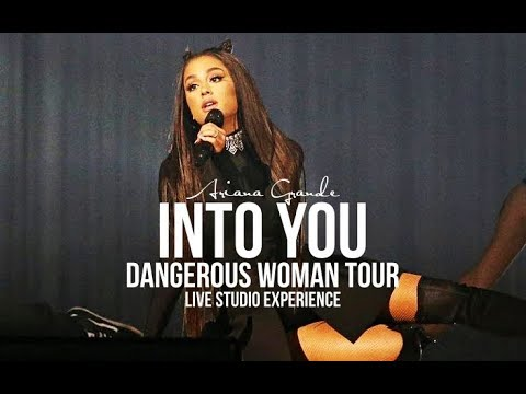 Ariana Grande - Into You (Dangerous Woman Tour Live Studio Version) -MOONSICK