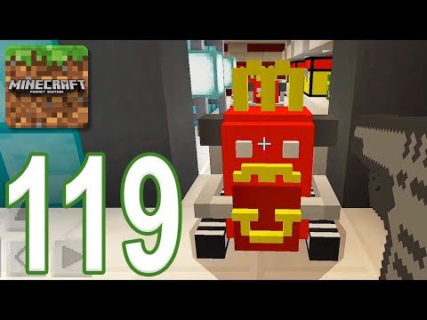 Minecraft: PE - Gameplay Walkthrough Part 119 - McDonald Mystery 2 (iOS, Android)
