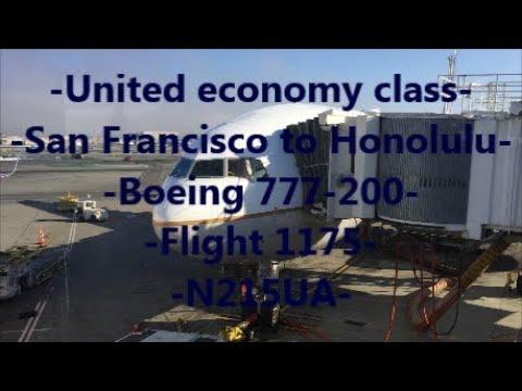 **TRIP REPORT** United Airlines | SFO-HNL | 777-200 | N215UA