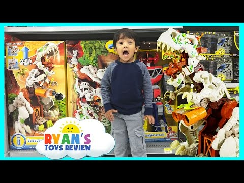 TOY HUNT For Imaginext Ultra T-Rex  And Paw Patrol