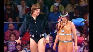(720pHD): MSW 02/25/84 - Wendi Richter & Buddy Landel vs. Princess Victoria & Lanny Poffo