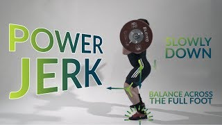 Power JERK / weightlifting & crossfit