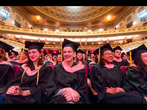 2017 Commencement: Eastman School of Music Ceremony Highlights