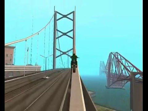 GTA San Andreas : bike skill