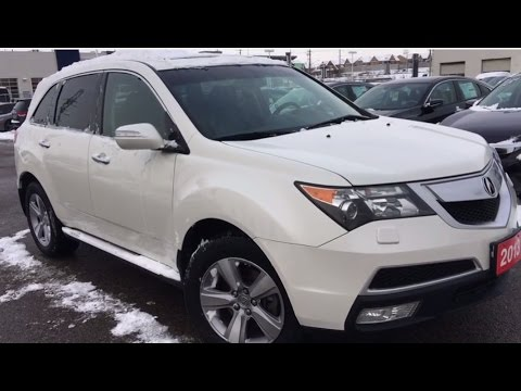 2013 Acura MDX w/SH-AWD + Technology Package | WHITBY OSHAWA HONDA | Stock U3948