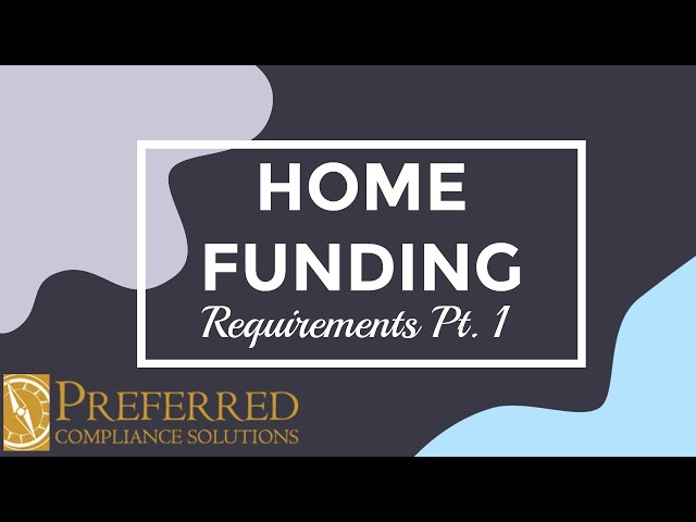 HOME VS. TAX CREDIT | PART 1 | Preferred Compliance Solutions