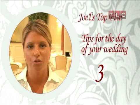 Masters of Reception Jo'el's Wedding Tips