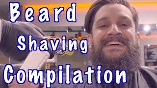 Beard Shaving Compilation - Barber Vidz