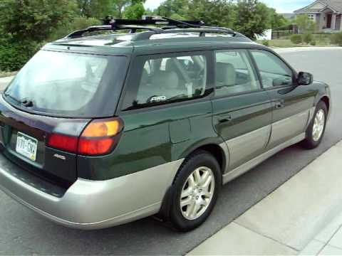 hqdefault 2000 subaru outback limited auto for sale denver colorado records  at crackthecode.co