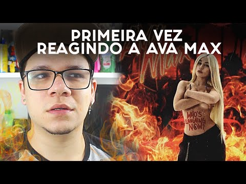 Ava Max - Who's Laughing Now [Official Music Video] | REACTION