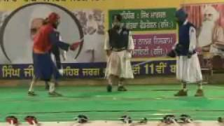 First International Gatka Competition at Gurduara Yadgar Sahib jarg 27.mp4