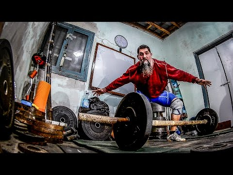 Strongman Axle Clean and Press Mistakes