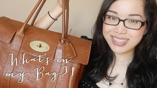 What's in my Bag and Mini Review (Mulberry Bayswater)