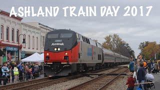 Ashland Train Day 2017: 21 TRAIN MARATHON! [Amtrak 156 Heritage, Amtrak Train Meet, Auto Train!]