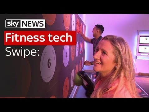 Swipe | Fitness tech and the UK's first passenger drone