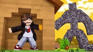 Minecraft: DESAFIO DA BASE 100% SEGURA CONTRA MONSTRO DE BEDROCK  ‹ JUAUM ›