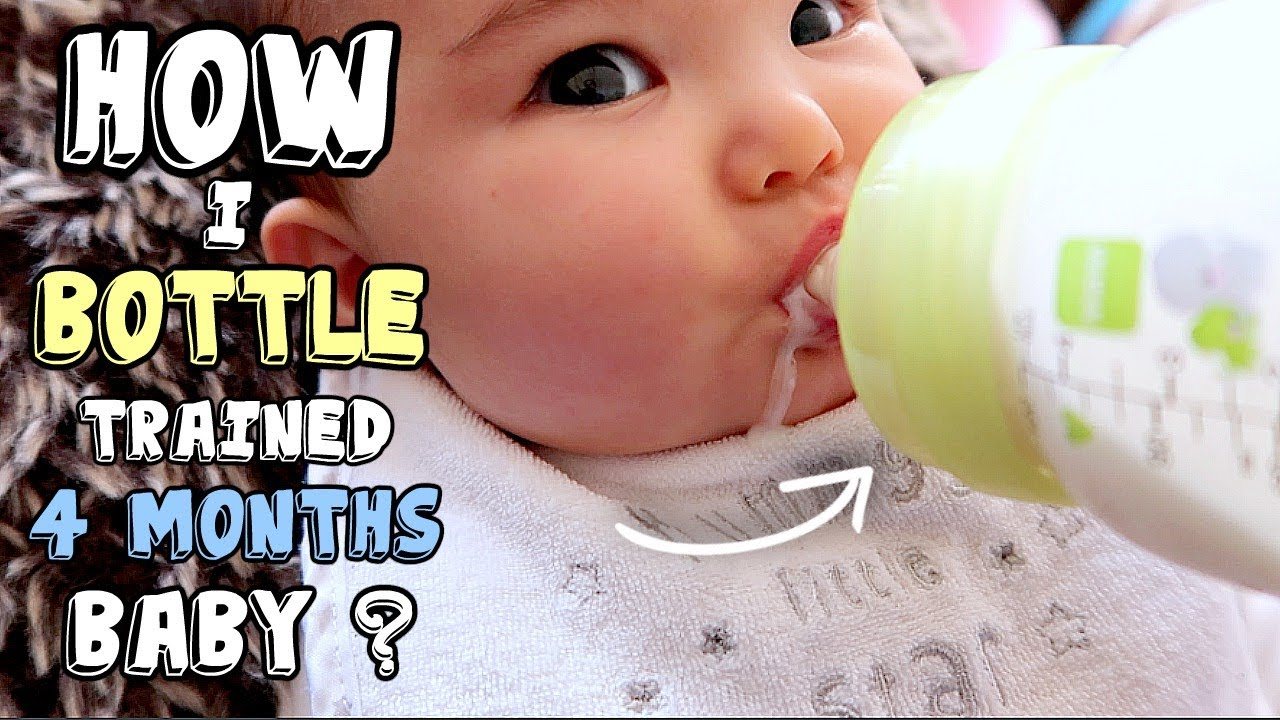 How I Trained My Breastfed Baby to Accept a Bottle at 4 ...