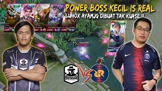 PSG RRQ AyamJG Akui Boss Kecil [Boss Pusher] Betul Power!! Mobile Legends: Malaysia