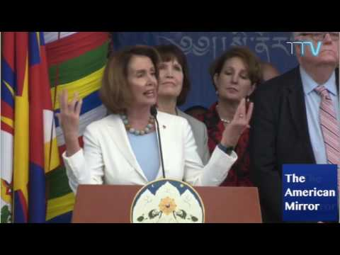 Nancy Pelosi stutters, calls China 'Tina' -- no one laughs at joke about Beijing
