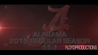 Alabama Crimson Tide 2015 Regular Season Highlights