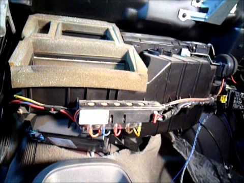 1998 Gmc Jimmy Heater Core Rebuild Wmv Youtube