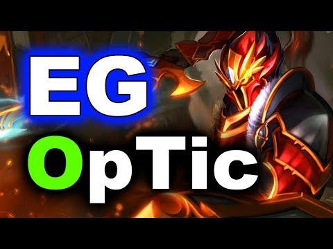 EG vs OPTIC - AMAZING NA DOTA - MDL Changsha MAJOR DOTA 2
