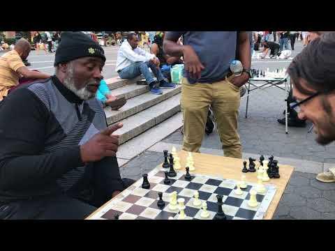 Beating a Union Square Chess Hustler: Achievement Unlocked