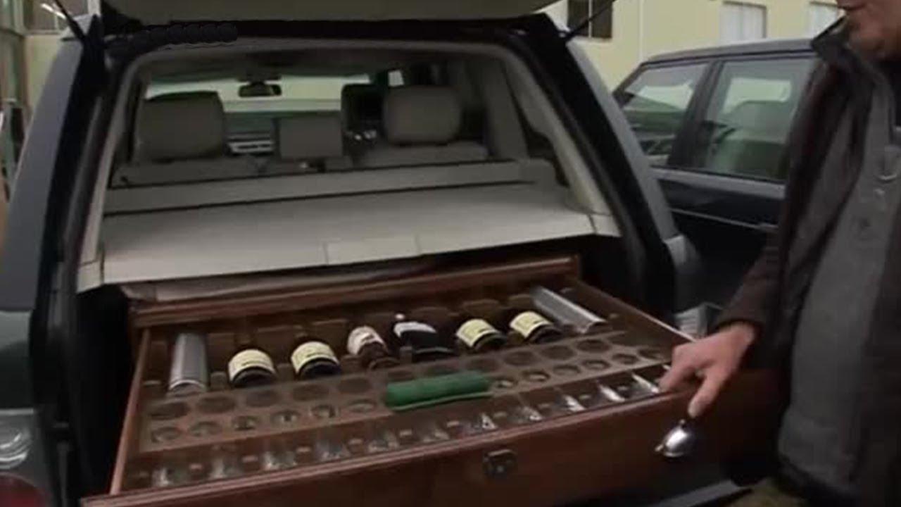 Jeremy's Travel Drink Cabinet | Top Gear