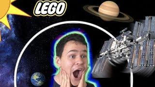 How I made LEGO's International Space Station Orbit Around Myself