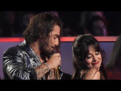 Maluma & Camila Cabello Share SEXY Dance During His 2018 VMAs Performance