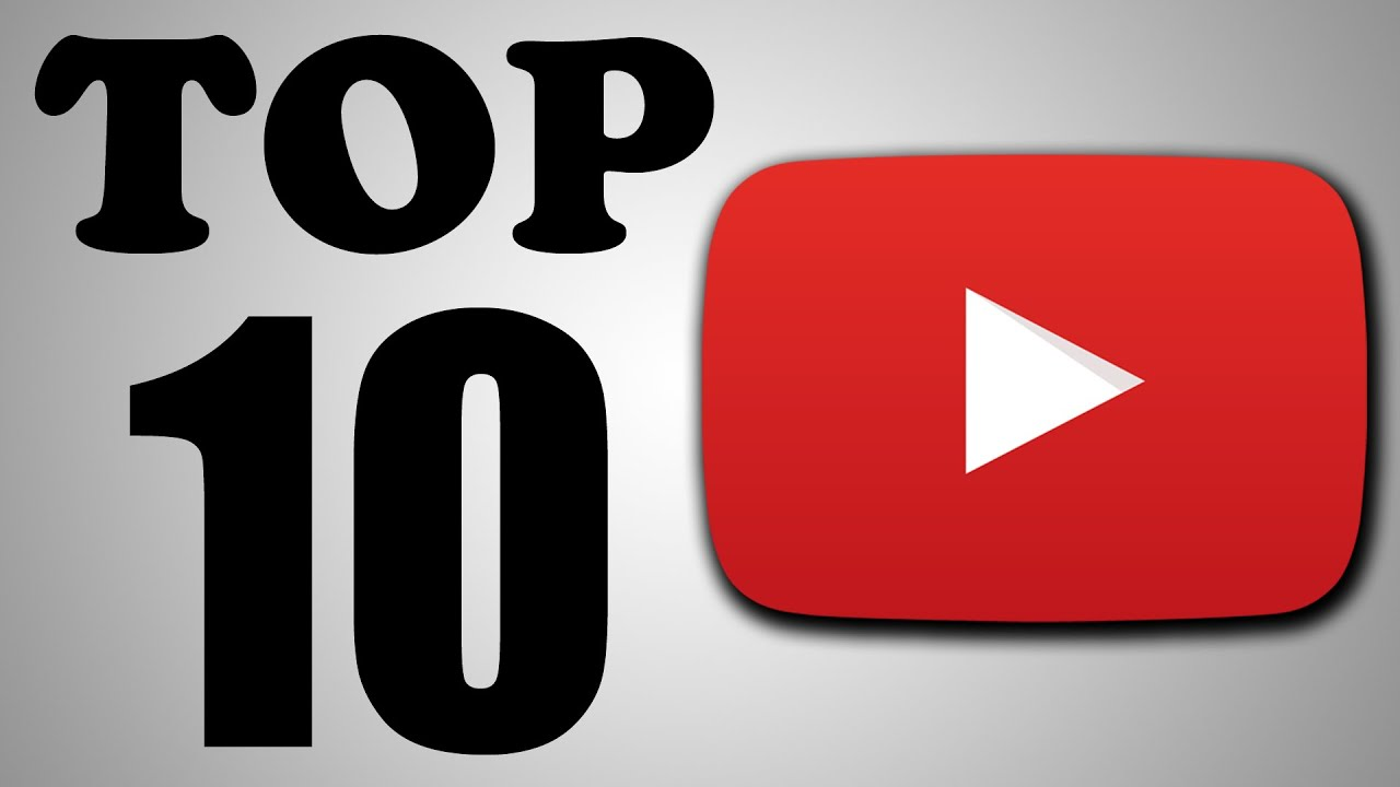 Top 10 Youtube Videos  Youtube