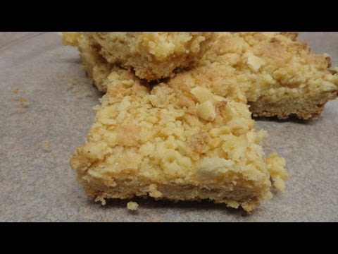 Recipes Using Cake Mixes: #18 Lemon Crumb Bars
