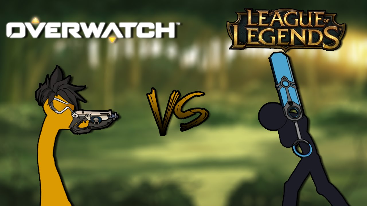 Old League Of Legends VS Overwatch EPISODE 1 YouTube