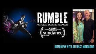 Rumble: the Indians Who Rocked the World | Alfonso Maiorana Interview