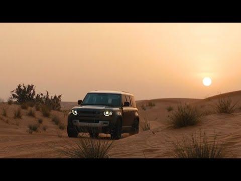 2020 Land Rover Defender: Dubai Desert Drive and Safari
