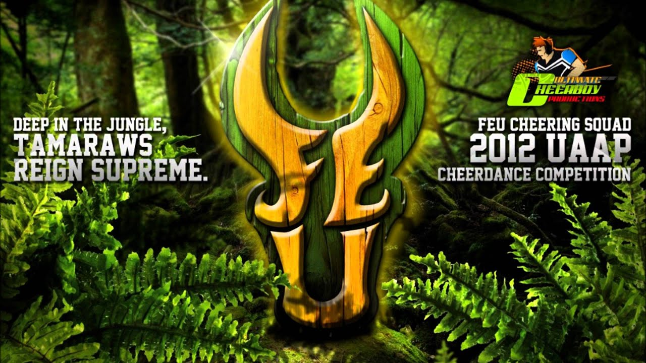 FEU Cheering Squad 2012 UAAP Cheerdance Competition Cheer Music