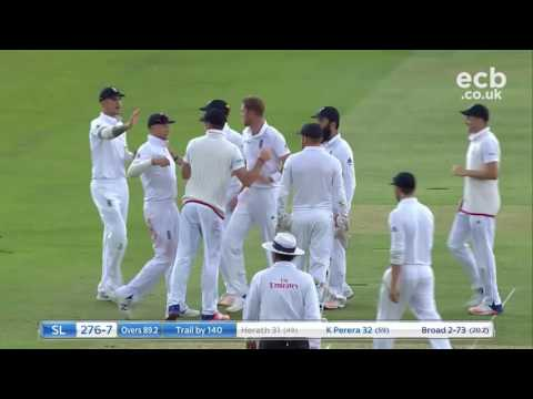 13 wickets fall on day 3 at Lord's - Highlights of England v Sri Lanka