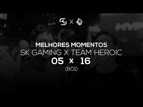 SK GAMING X HEROIC (TRAIN) - MELHORES MOMENTOS - ELEAGUE PREMIER   felipevhx