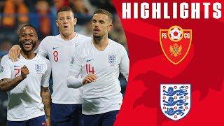 Montenegro 1-5 England | Barkley Brace & Sterling Shines Again! | Euro 2020 Qualifiers | England