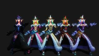 MMD - SOLO [ Winter Wonder Soraka - League Of Legends ]