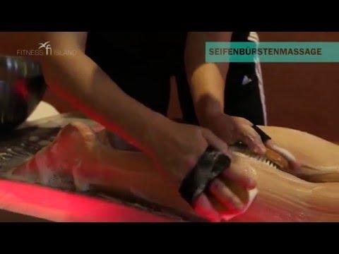 Seifenbürsten-Massage - Fitness Island