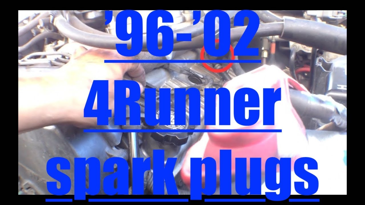 Fast Spark Plug Replacement Toyota 4runner V6 5vz Fe Fix It Angel Tweeter Wiring Diagram