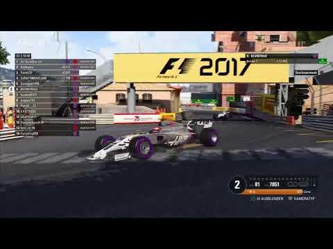 GER - PS4 | Ligarennen Monaco | 100% Rennen/Race | Formel 1 Liga TV