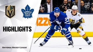 Nhl Highlights | Golden Knights @ Maple Leafs 11/07/19